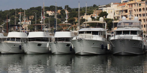Beneteau Swift Trawler gathering at Marseille
