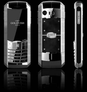 Goldvish Equilibrium luxury dual sim mobile phone