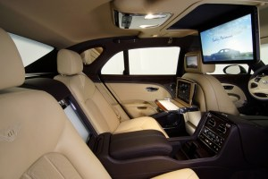Bentley Mulsanne Executive Interior Concept debuts at International Automobile Exhibition