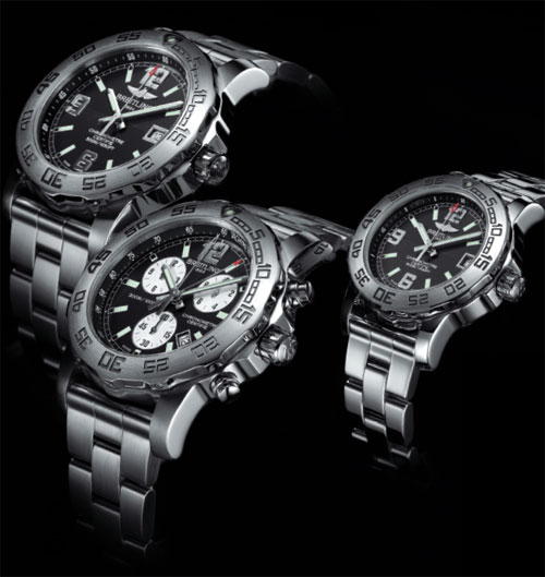 The new redesigned Breitling Colt Chronograph II, Colt 44 and Colt 33 watches