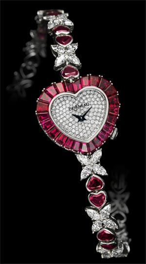 Les Délicates jewelry watch collection from DeLaneau. Romantic, sparkling and precious. 3