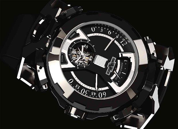 DeWitt Concept Watch No. 3 X Watch titanium and steel one-minute tourbillon