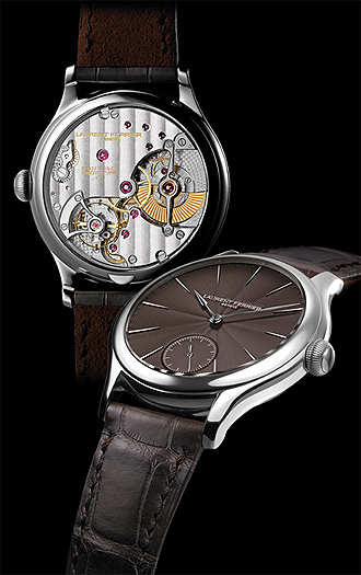 Laurent Ferrier Galet Micro-Rotor Prototype No. 1. Stainless steel wristwatch