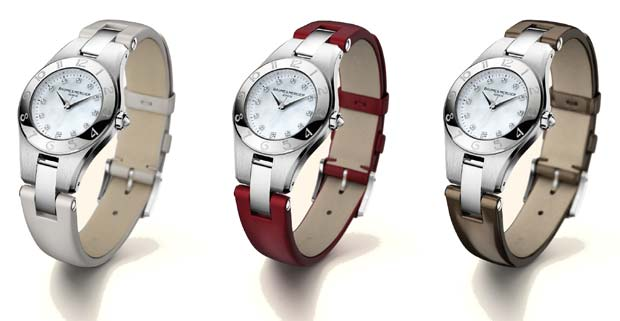 Baume and Mercier Linea Watch Strap Collection for Fall 2011/2012