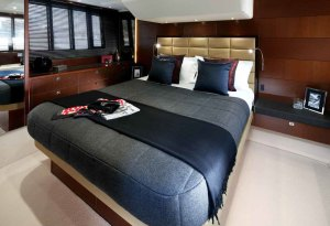 The new Princess 60 luxury cruiser from the Princess Flybridge range 3