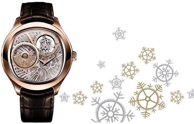 The Piaget Emperador Coussin Automatic Tourbillon Ultra-Thin watch