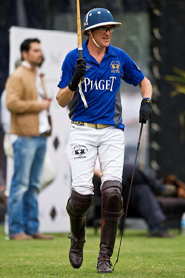 Luke Tomlinson, Captain of England's national polo squad, joins Piaget's Triple Crown team