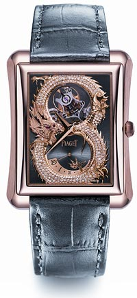 The Piaget Dragon and Phoenix watch collection - A legend by Piage