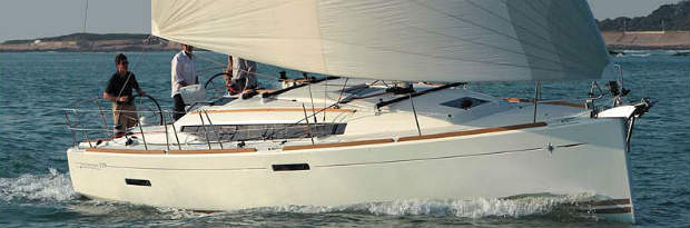 """The Jeanneau Sun Odyssey 379 Cruiser named """"Boat of the Year"""" in two key categories"""