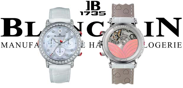 Introducing the Blancpain Saint-Valentin Chronograph 2012 diamond watch collection