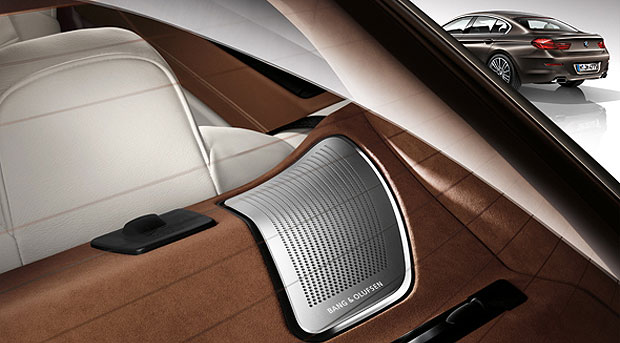 Bang & Olufsen's new high-end Surround Sound system to feature in the BMW 6 Series Gran Coupe