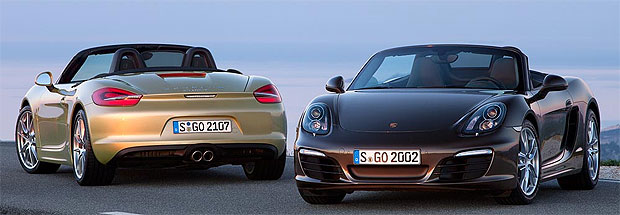 The 2012 Porsche Boxster Generation – new mid-engine roadsters from Porsche