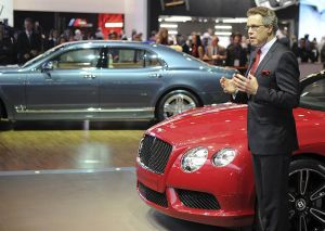 Statement by Wolfgang Dürheimer, CEO of Bentley Motors at the North American International Auto Show 2012