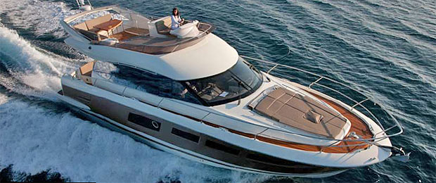 The Prestige 500 Yacht wins Motor Yacht of the Year in the category of yachts up to 55 feet