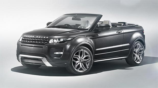 The Range Rover Evoque Convertible Concept the world's first premium convertible SUV.