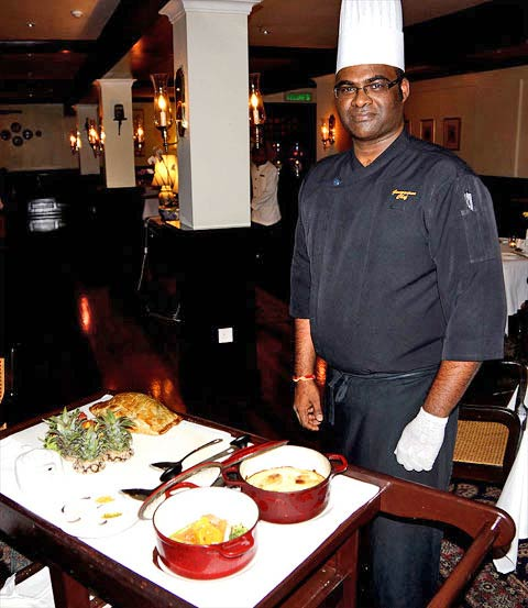 Chef Ganesh anticipated my culinary likes and took the wonderful liberty of preparing a huge Beef Wellington, usually 24 hours notice is required.