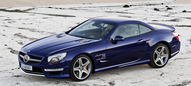 Mercedes launch its 2012 Roadster season with the new SL 65 AMG.