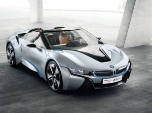 The stunning looking BMW i8 Concept Spyder - A vision of the Future. 6