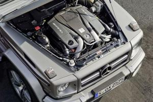 The new Mercedes-Benz G63 AMG, 37 HP more than the G55 AMG Kompressor. 6