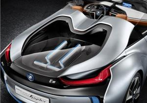 The stunning looking BMW i8 Concept Spyder - A vision of the Future. 8