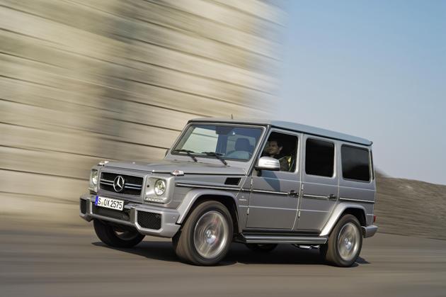 The new Mercedes-Benz G63 AMG, 37 HO more than the G55 AMG Kompressor.