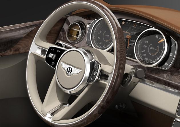 Bentley Reveals Powertrain Details for the Bentley EXP 9F Luxury SUV Concept.