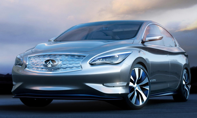 Infinit LE Concept, a vision of zero emission luxury is revealed in New York. 4