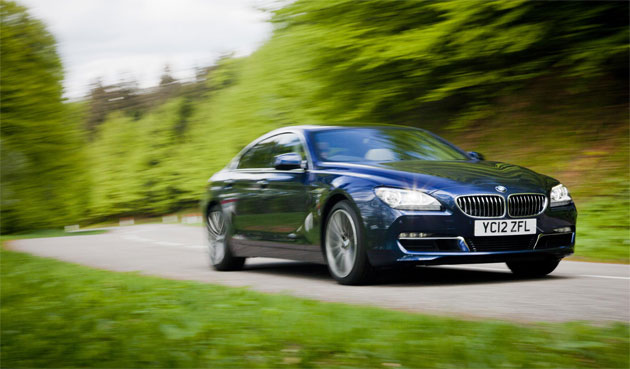 The BMW 6 Series Gran Coupe - BMW's first four-door coupé.