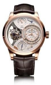 Jaeger-LeCoultre Duometre Spherotourbillon watch, one for demanding connoisseurs and collectors.