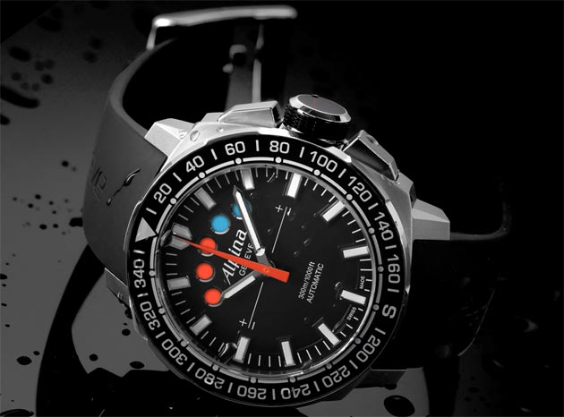 The Alpina Regatta Automatic Chronograph watch - caliber AL-880