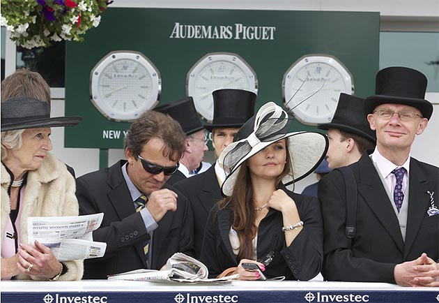 Audemars Piguet hosted a Derby Day celebration during the first engagement of the Diamond Jubilee celebrations.
