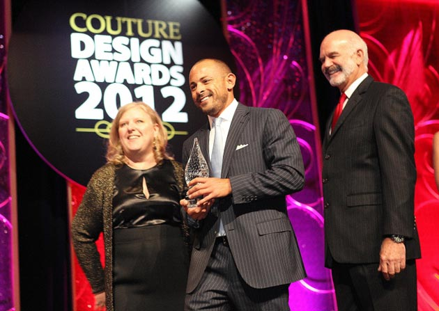 HD3 Wins Innovation Couture Time Award for Innovation at 2012 Couture Design Awards.
