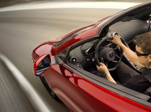 McLaren announces its next new high performance sports car, the McLaren 12C Spider.