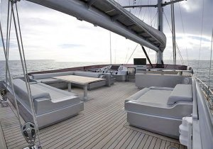 Sylver K is a stunning 103 feet sailing yacht from the Turkish shipyard Noble Yachts.