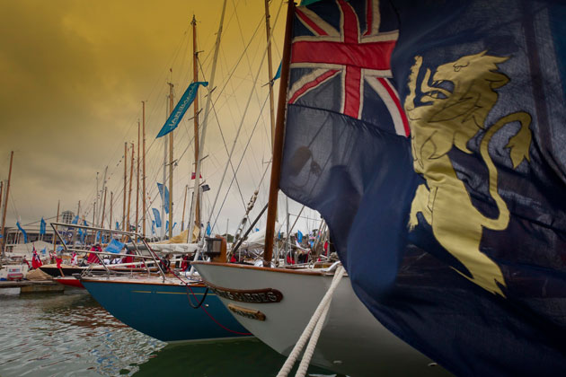 The Panerai British Classic Week 2012 sees a record entry of 83 yachts.
