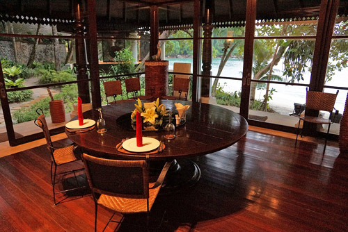 Fine Dining at the Estates at Pangkor Laut