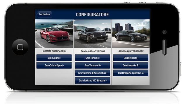 Maserati Passion, Maserati's first official application, has just made its App Store debut. This intuitive tool allows users to discover the world that revolves around Maserati.