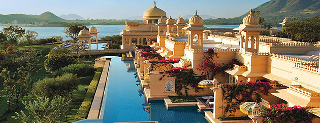 Udaipur, the capital of the erstwhile kingdom of Mewar, one of the oldest surviving dynasties in the world, is set charmingly on Lake Pichola, against the dramatic backdrop of the Aravalli Hills. Located in this tranquil and salubrious setting, The Oberoi Udaivilas is conceived as a traditional Indian palace. Spread over 30 acres of rambling landscape on the banks of Lake Pichola, the hotel features courtyards and walkways, gentle rippling fountains, reflecting pools and verdant gardens.