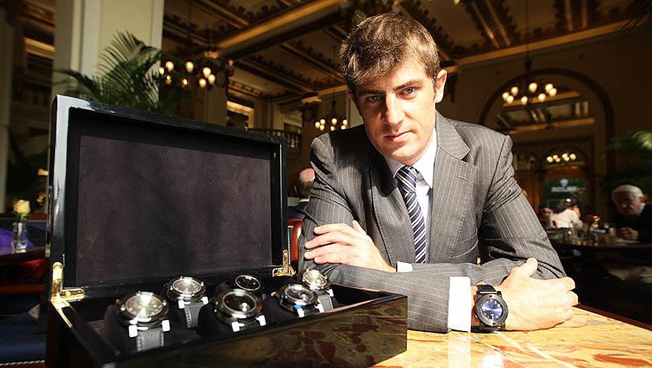 Luxurious Magazine interviews Adrien Choux, owner of the Chinese Timekeeper watch brand.