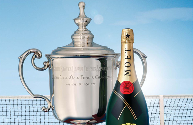 Moet & Chandon, which has been the champagne of success and glamour since 1743, will once again create the ultimate tennis experience at the 2012 US Open by bringing the magic of champagne to one of the world's most celebrated events, the US Open, held at Flushing Meadows-Corona Park, from August 27 through September 9.