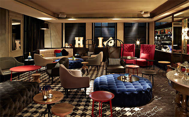 Dramatic LED art walls are framed by restored art deco and baroque details, next to show-stopping spotlights and ornate gilt displays cases. You've just stepped into the QT Sydney, Design Hotels™ newest member in Australia.