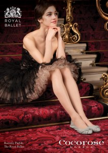 Cocorose London are delighted to announce the launch of their second Royal Ballet foldable ballet pump for AW12. Created in partnership with the world-famous Royal Ballet based at the Royal Opera House, Covent Garden, 'Giselle' is the newest addition in their Exclusive Royal Ballet Capsule Collection.