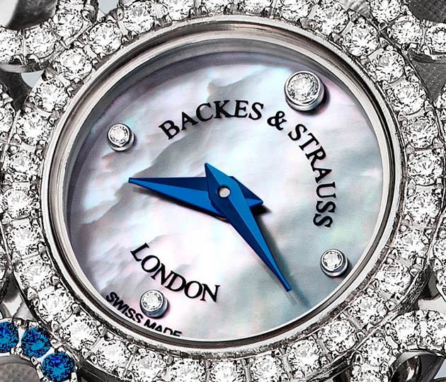 Backes & Strauss are delighted and proud to reveal their bespoke designed Victoria Blue heart, created an crafted in white gold with white diamonds and blue sapphires to directly benefit and highlight the work of the United Nations Blue Heart Campaign against Human Trafficking, which they wholeheartedly support.