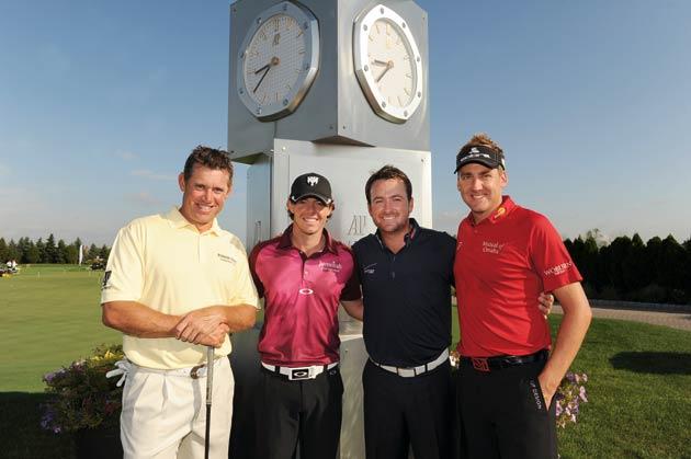 Audemars Piguet Ambassador's Cup 2012, Jersey City, US - Lee Westwood, Rory McIlroy, Graeme McDowell & Ian Poulter