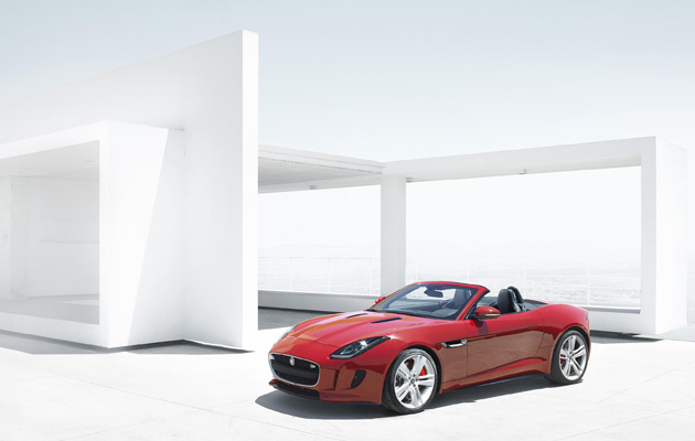 Jaguar has officially revealed the all-new F-TYPE at an exclusive event in the gardens of the Musée Rodin Museum in Paris.
