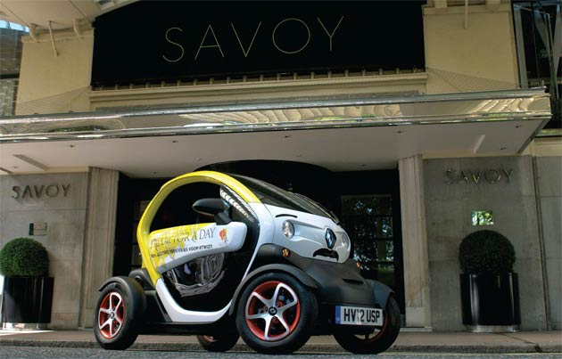Renault's unique two-seat Twizy attended arguably its most star-studded UK event recently, as a show-stealing, four-wheeled lifestyle accessory to help raise money for the rocking charity 'Freddie For A Day'.
