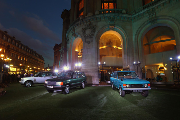 Land Rover has made the best in British automotive design and engineering big news in Paris with a high-impact presentation of the all-new Range Rover, a show-stand featuring the Land Rover Defender driven by field agent Eve in the new James Bond movie SKYFALL™, and the European show debut for the revised 2013 Land Rover Freelander 2.