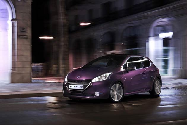 The new and elegant Peugeot 208 XY - Fittingly the most luxurious 208.