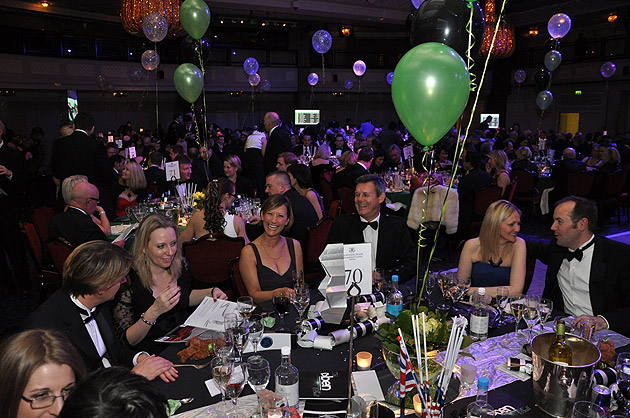 A few tables are still available at the Ben Ball 2012. To be held at the luxurious Grosvenor House Hotel in London.