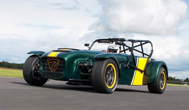 Iconic British road and race car manufacturer, Caterham Cars, has developed its most extreme race-ready Seven to date – the Superlight R600.